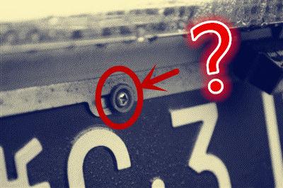 车牌前后究竟安装几个螺丝才合法 《红绿灯》告诉你答案!
