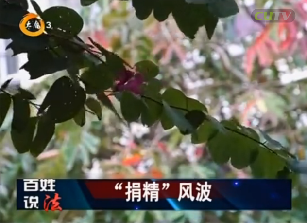 """百姓说法 2017-06-11 """"捐精""""风波"""