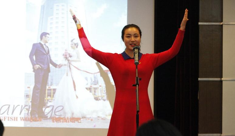 """襄阳市""""讲强创""""主题演讲比赛一等奖获得者杨豪雨"""