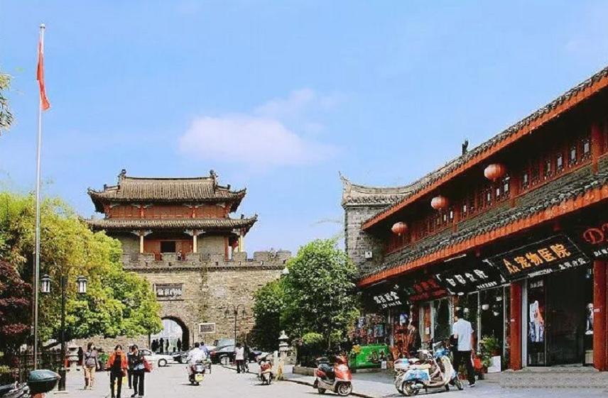 襄阳这条街上榜2017湖北旅游名街