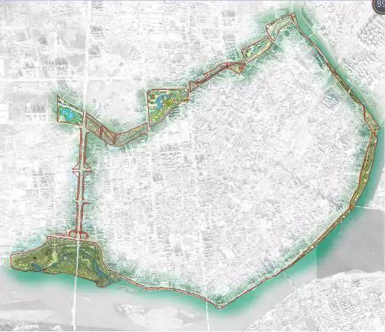 樊城即将新建两大公园、一条环形绿道!襄阳居民有福了!